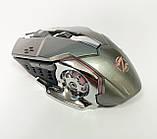 Мышь аккумуляторная беспроводная бесшумная для геймеров с подсветкой ACETECH CH001, фото 9