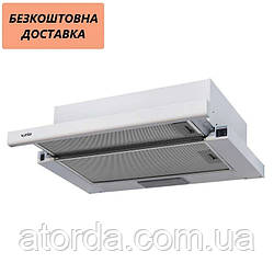 Вытяжка Ventolux GARDA 60 WH (450) Телескопическая Белая