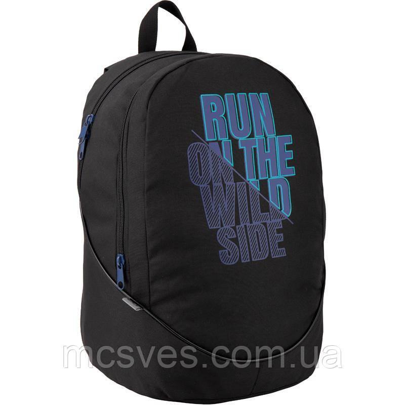 Рюкзак GoPack Сity GO20-120L-1, ущільнена спинка, 2 відділення, відділення для ноутбука,
