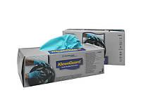 Перчатки нитриловые Kleenguard неопудренные размер L 100 шт голубые