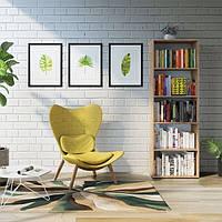 Полка - шкаф для книг, стеллаж для дома и офиса P0077