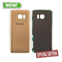 Задня кришка Samsung G935 S7 Edge gold