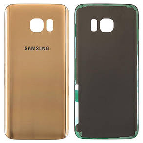 Задня кришка Samsung G935 S7 Edge gold, фото 2