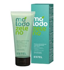 Маска-зволоження з хлорофілом для обличчя ESTEL Molodo Zeleno 100 мл