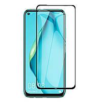 Защитное стекло для Huawei P40 Lite (Черный)