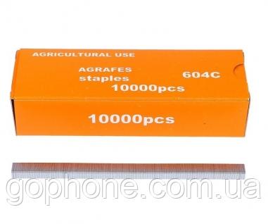 Скобы для степллера садового подвязочногоTapetool, фото 2