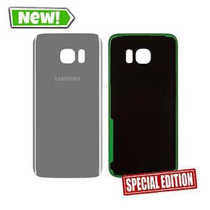 Задняя крышка Samsung G935 S7 Edge silver, фото 2