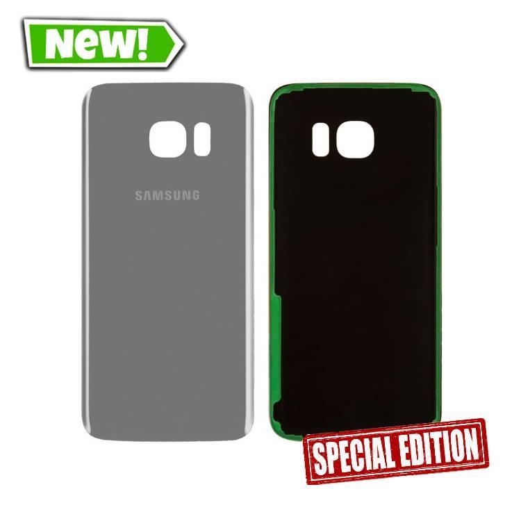 Задняя крышка Samsung G935 S7 Edge silver