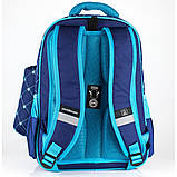 """Рюкзак шкільний CFS CF86133 16"""", """"Prestige"""", Royal Blue, фото 5"""