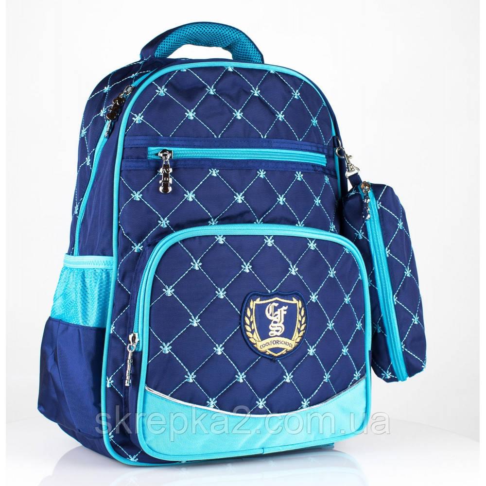 """Рюкзак шкільний CFS CF86133 16"""", """"Prestige"""", Royal Blue"""