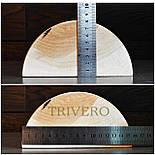 Подушка Ниши - Твердая подушка валик под шею из дерева Покрыта лаком, фото 10