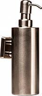 Дозатор для жидкого мыла GLOBUS LUX SQ9432 квадрат нержавейка SUS304