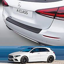 Пластикова захисна накладка на задній бампер для Mercedes-Benz A-Class W177 Hatch 2018+