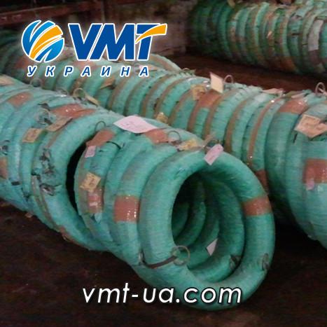 Дріт з нержавіючої сталі 5мм AISI 316TI (10Х17Н13М2Т), кислотостійка