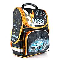 """Рюкзак школьный  CFS CF86166 13,4"""", """"Blue Car"""", каркасный, фото 1"""