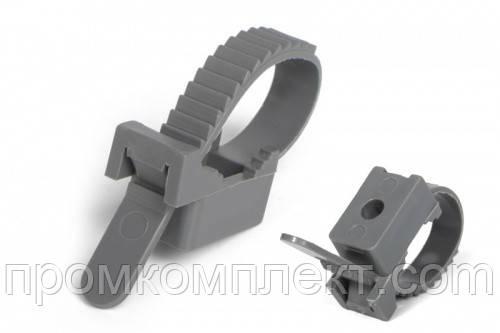 Крепеж ремешковый серый 10х120 мм (50шт.) APRO