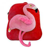 Рюкзак детский Фламинго красный