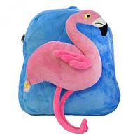 Рюкзак детский Фламинго голубой