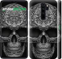 """Чехол на Xiaomi Redmi Note 8 Pro skull-ornament """"4101c-1783-39839"""""""