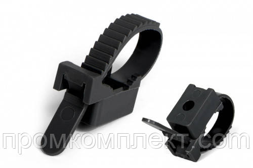 Крепеж ремешковый черный 7х80 мм (100шт) APRO