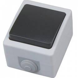 Вимикач накладної 1-клавішний АТОМ
