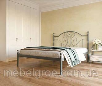 Кровать двухспальная Офелия 1600х2000(1900)мм тм Металл-Дизайн