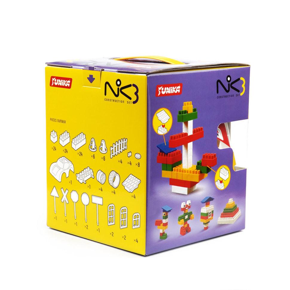 """Конструктор дитячий """"NIK-3"""" (128 дит.) 71535"""