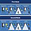"""Светильник фасадный на солнечной батарее 2Вт """"SOLARIS-1"""", фото 2"""