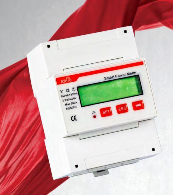 Двунаправленный счетчик управления энергией Afore Smart Meter TAPM-130kW ограничитель генерации трехфазный