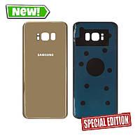 Задня кришка Samsung G955 S8 Plus gold