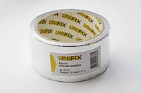 Скотч алюмінієвий 50мм*10м UNIFIX