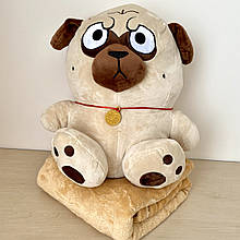 Плед подушка игрушка 3в1. Дитяча іграшка - плед. Размер игрушки 40 см. Плед 120*160см.
