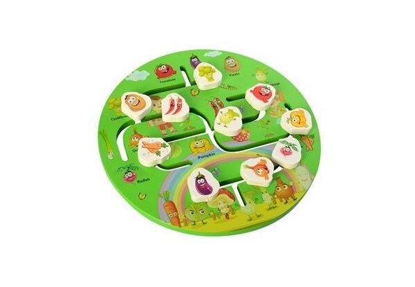 Деревянная игрушка Игра MD 2355 (Овощи)