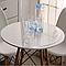 Прозрачная силиконовая скатерть на стол Soft Glass 1.0х1.7 м толщина 1.5 мм Мягкое стекло, фото 8
