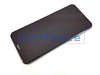 Дисплей + сенсор (модуль) Xiaomi Redmi Note 8T черный + рамка серая