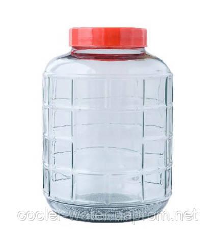 Бутель для вина скляна 9,3 л