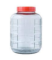 Бутыль для вина стеклянная 9,3 л