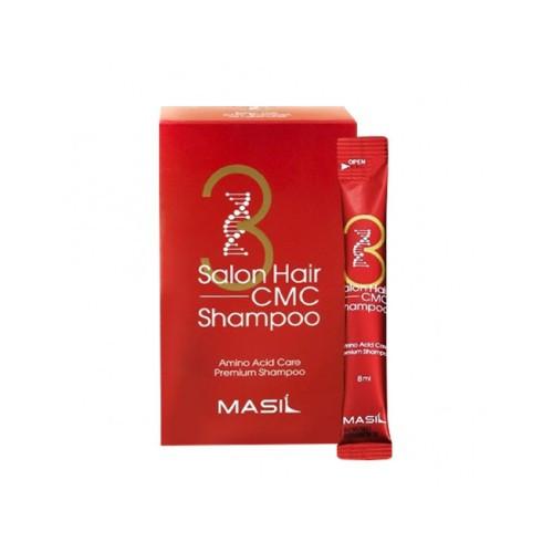 Відновлюючий шампунь з амінокислотами Masil 3 Salon Shampoo 8 мл