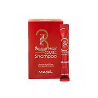Восстанавливающий шампунь с аминокислотами Masil 3 Salon Shampoo 8 мл
