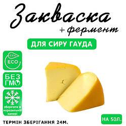 Закваска для сиру Гауда на 50л молока, фото 2