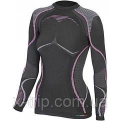 Термофутболка женская Accapi Ergoracing Black/Pink, р.M/L (ACC A760.932-ML)