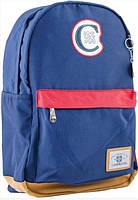 Рюкзак подростковый YES  CA 087, синий, 30*47*14 554075