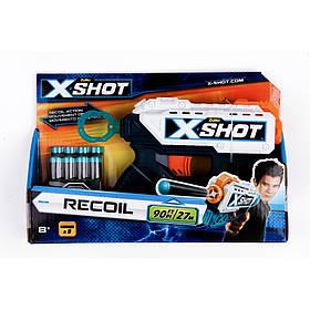 Скорострільний бластер x-shot recoil (8 патронів) (36184Z)
