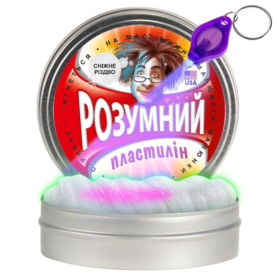 Умный пластилин thinking putty снежное рождество (ti21016)