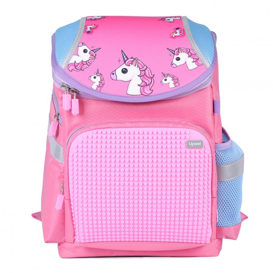 Рюкзак super class school unicorn рожевий Upixel (WY-A019C)
