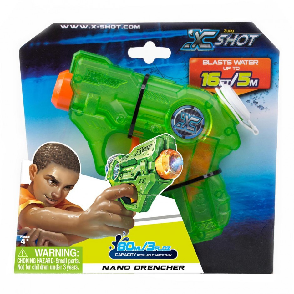 Водний бластер nano drencher X-shot (5643)