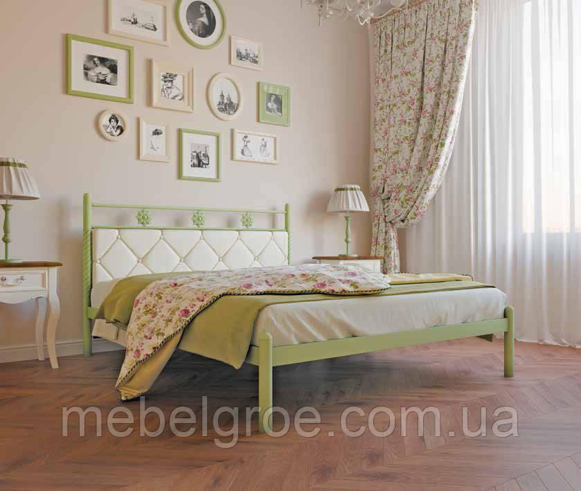 Кровать двуспальная Белла 1400х2000(1900)мм тм Металл-Дизайн