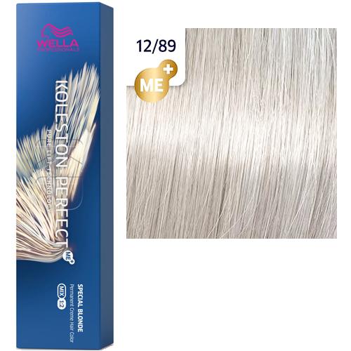 Koleston Perfect ME+ 12/89 краска для волос ультра яркий блонд жемчужный сандрэ, 60 мл