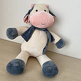 Плед подушка игрушка 3в1. Дитяча іграшка - плед бычок. Размер игрушки 45 см. Плед размер 120*160см., фото 2