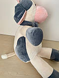 Плед подушка игрушка 3в1. Дитяча іграшка - плед бычок. Размер игрушки 45 см. Плед размер 120*160см., фото 4